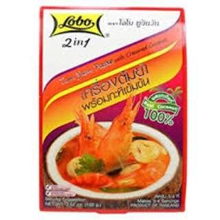 Lobo 2 in 1 Tom Yum Paste