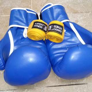 Boxing gloves treme sports