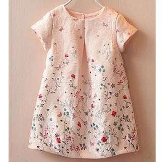 Made in KOREA 女童絲裙