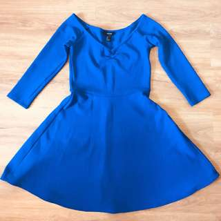 F21 Royal Blue Dress