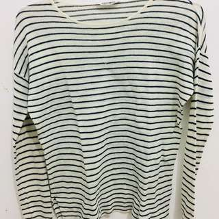 PULL & BEAR STRIPED SWEATER