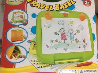 Kid's Toys Travel Easel Art Drawing