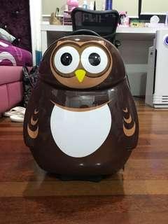 Owl cuties&pals luggage bag