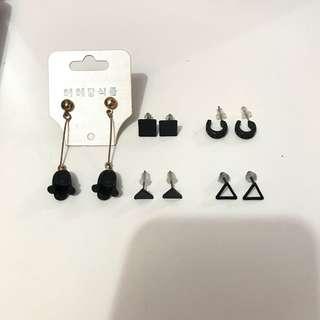 耳環 Earrings $10 for 1 pair, $40 for all