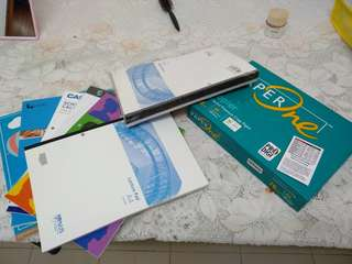 New books and Xerox paper bundle