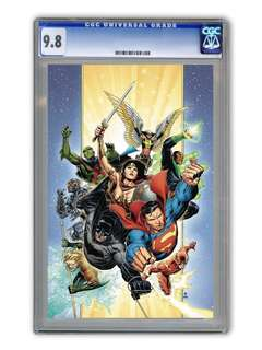 Justice League Vol 4 #1 Cover A Regular Jim Cheung Cover CGC 9.8