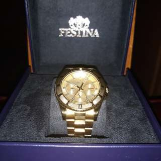 FESTINA gold watch