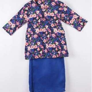 Baju Kurung Cotton Kids (po)