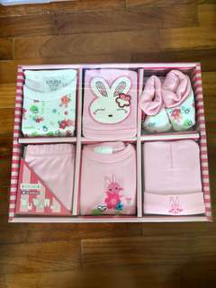 Baby Girl Gift Set (6-pc)