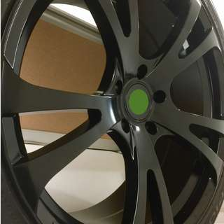 22-inch forged alloy rims and 5 Pirelli tyres for Audi, Volkswagen Porsche owners