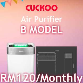 🎆📢CUCKOO B MODEL AIR PURIFIER📢🎆