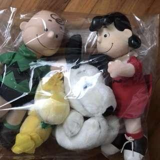 Snoopy Charlie Brown Lucy Woodstock