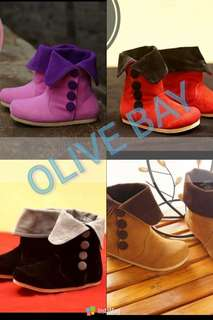 Kids trendy and elegant high shoes