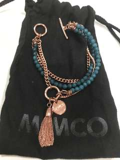 Mimco rosegold bracelet