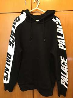 Palace Hoodie (black and white)