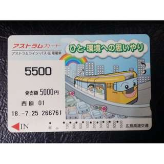 (HC12) 日本 火車 地鐵 車票 MTR TRAIN TICKET, $5