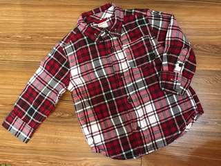 Gymboree Checkered Shirt