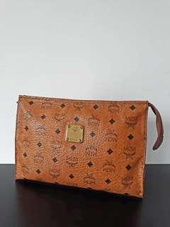 Authentic MCM Visetos Clutch Bag