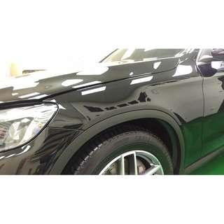 【騰信車體包膜】M-Benz GLC美國TPU犀牛皮保護膜包膜