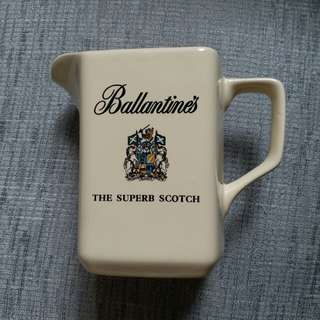 Ballantine's the superb scotch whisky water jug