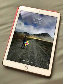 iPad Air 2 64GB Gold wifi with ori apple cover