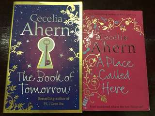 Novels by Cecelia Ahern