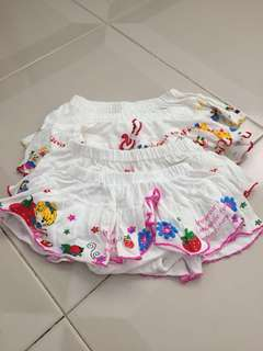 Short pants for kids up to 12-24 months