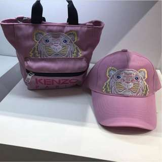 Brand New Ready Stock Kenzo Cap in Pink