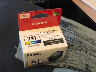 Canon Printer Colour Cartridge 741