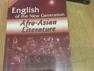 English of the New Generation Alfro-Asian Literature