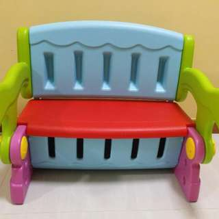 Convertible Bench with storage for toddlers