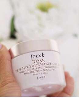 Fresh Rose Face moisturiser