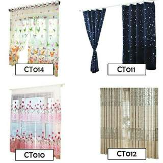 Premium Quality Sheer TYpe Tulle Curtain