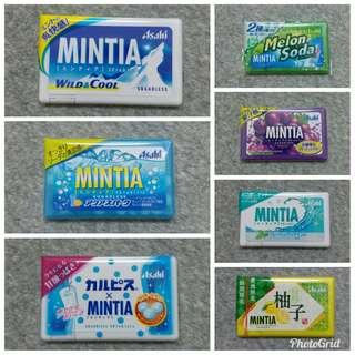 日本直送:Asahi MINTIA 無糖薄荷糖