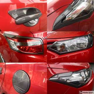 Vios Gen3 Carbon Gloss Type Cover