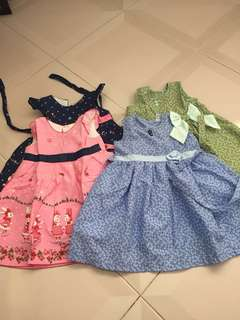 Dress for kids up to 12-24 months