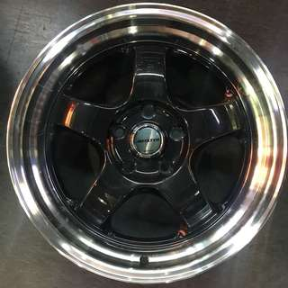 "17"" Meister Rims super low offset deep dish"