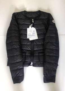 全新黑色 Moncler Down Jacket 薄羽絨