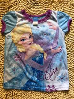 BN authentic Frozen top tshirt size 4-6yrs old