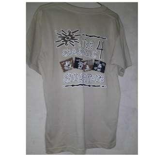 🚚 The 4 日韓系 圓領 短袖 T-shirt