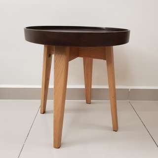 Rental - Round wood side table