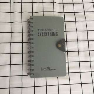 The mind is everything notepad