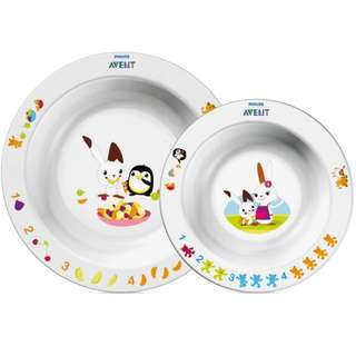 Philips Avent Toddler 2 bowl set 6m+
