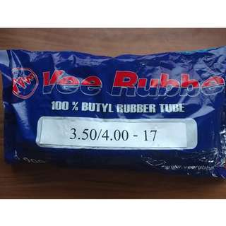 Vee Rubber Tyre Tube Size 3.50/4.00-17