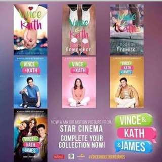 Complete set Vince and kath and james book