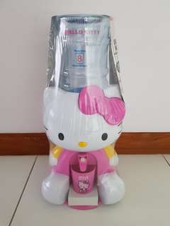 Hello Kitty Mini Water Dispenser BPA Free Come With Free Drinking Cup Brand New Unopen Free Delivery