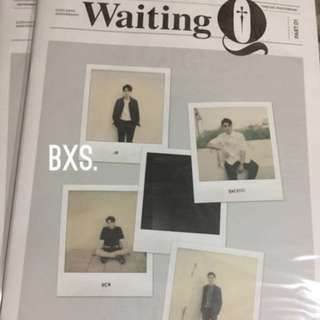 ON HAND Nu'est Waiting Q Tabloid Photobook