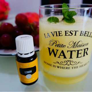 Lemon Essential Oil Young Livinv