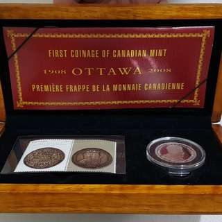 Ottawa 2008 First Coinage of Canadian Mint