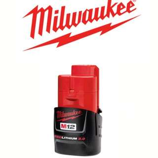 Milwaukee M12 - 12v 2.0ah